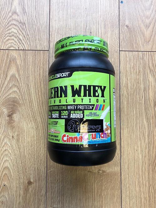 muscle sport lean whey (cinnacrunch)