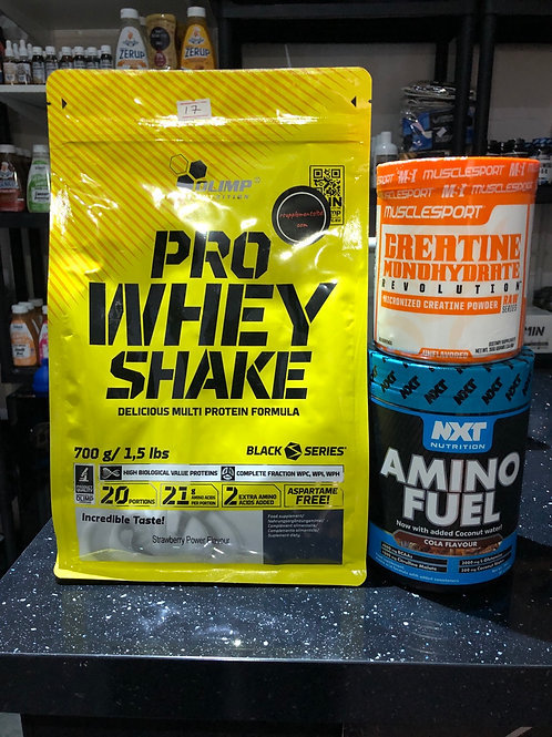 Protein & amino offer