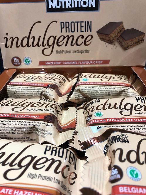 Indulgence bar (hazelnut caramel)