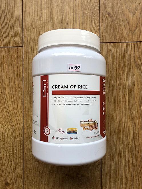 CSN cream of rice (cinnamon cereal )