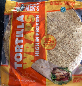 Uncle jacks tortilla wraps