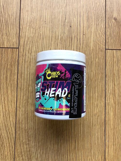 Chaos crew stim head (blueberry lemonade)