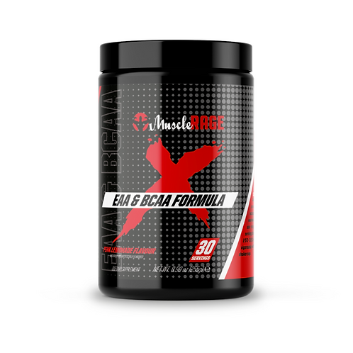 Muscle rage eaa/bcaa formula (various flavours )