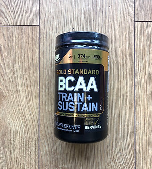 Optimum nutritions bcaa train & sustain (cola)