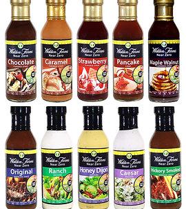 Walden farms (various flavours )