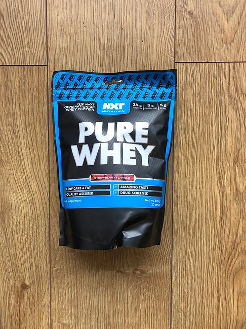 Nxt nutritions pure whey (strawberry )