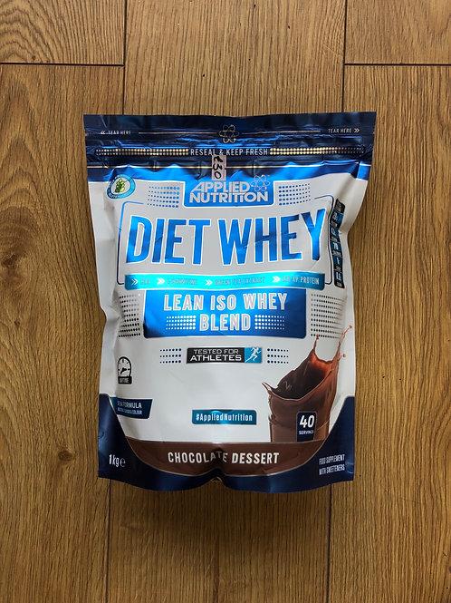 Applied Nutrition diet whey (chocolate desert )