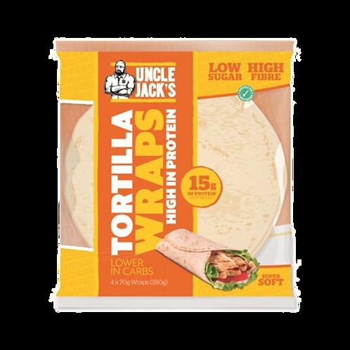 Uncle jacks tortilla wraps