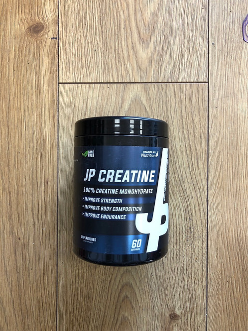 Trained by jp CREATINE