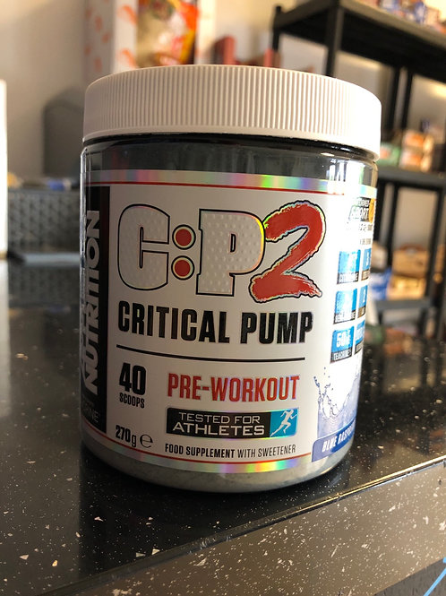 Critical pump (Bb june 2020)