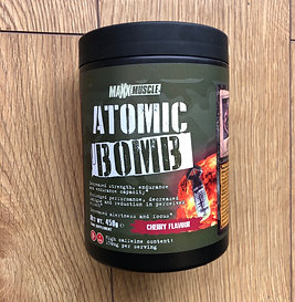 MAXXMUSCLE atomic bomb SAMPLE