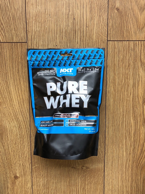 Nxt nutritions pure whey (chocolate )