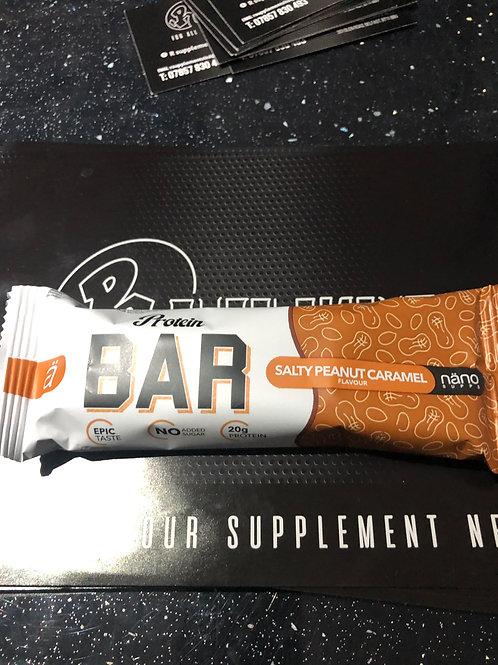 Nano sups protein bar (salted caramel)