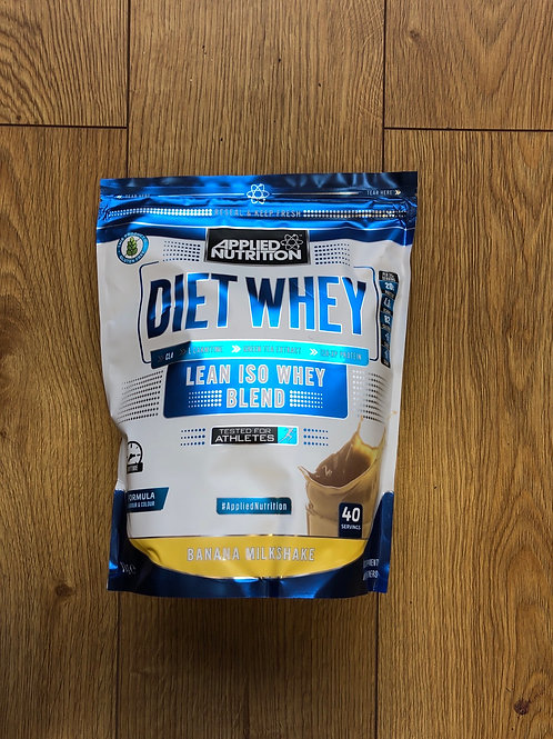 Applied nutritions diet iso whey (banana )