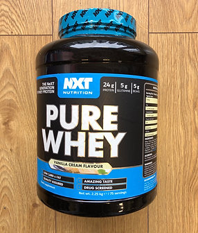 Nxt nutritions pure whey (vanilla cream)