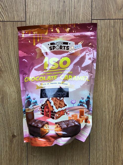 Yummy sports iso whey (chocolate caramel)