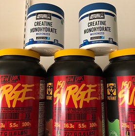 Mutant iso surge & creatine offer
