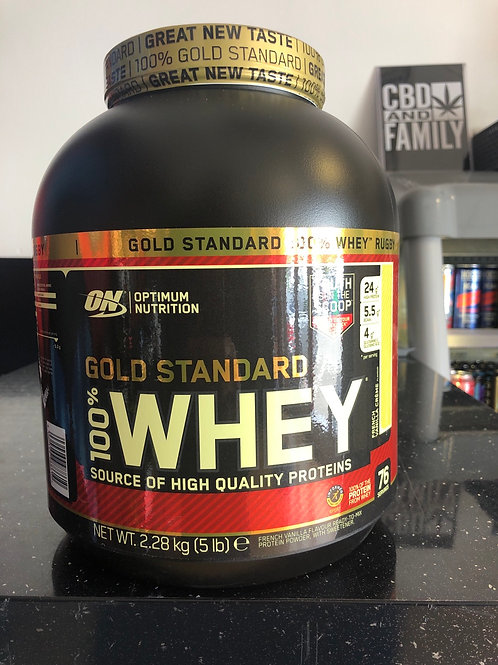 Optimum nutritions gold standard (french vanilla cream)