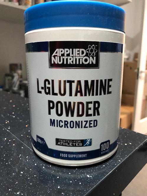 Applied nutritions l glutamine (100 servings )