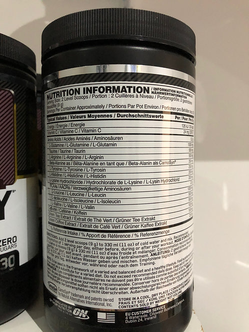 Optimum nutrition amino energy (cola)