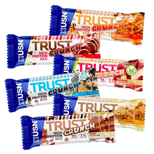 Usn crunch bar (various flavours )