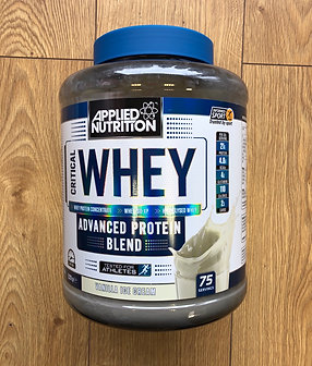 of Applied Nutrition critical whey (vanilla)
