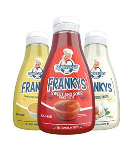 Frankys sauces (various flavours )