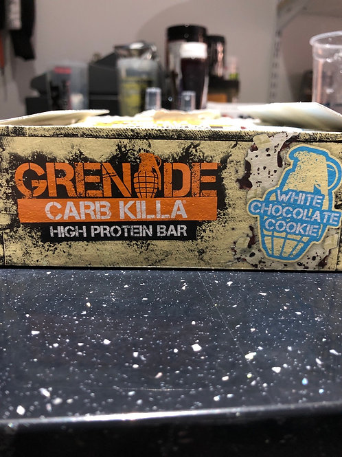 Grenade carb killa ( white chocolate cookie)
