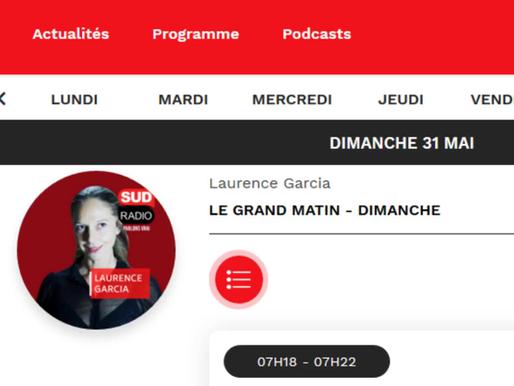 Interview de BackToEarth - Sud Radio - Le Grand Matin