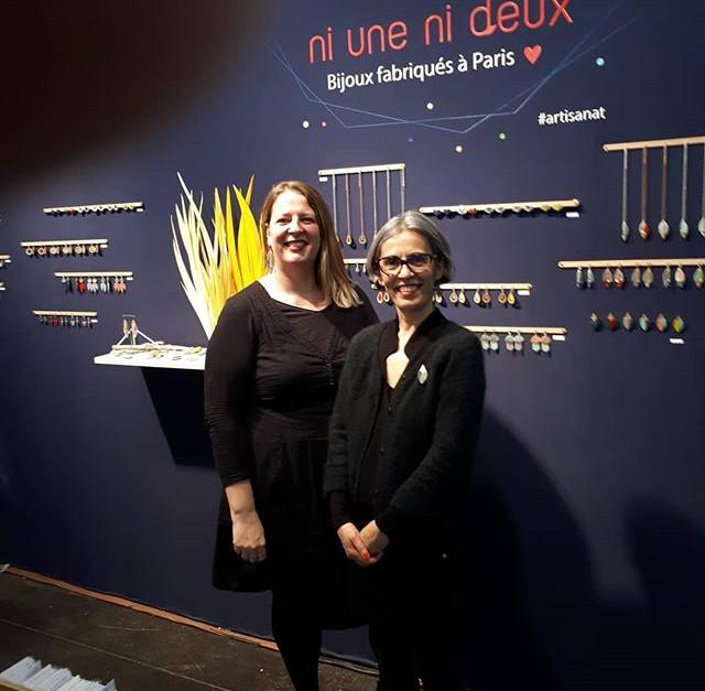 Songül et Nolwenne présentent la nouvelle collection printemps/été 2020 sur le salon Maison & Objet.