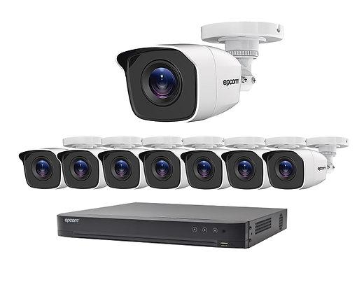 Kit de Videovigilancia analógico para exteriores