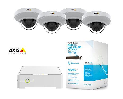Sistema de Videovigilancia IP para interior marca AXIS