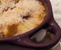 Cassolette de lotte et polenta