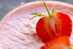Mousse aux fraises