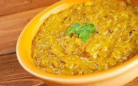 Purée de lentilles au curry