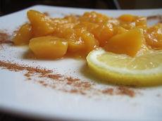 Compote de pommes au citron vert