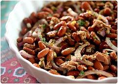 Salade de haricots rouges et thon