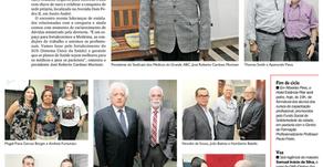 Diário do Grande ABC cobre inauguração da sede própria do Sindmed