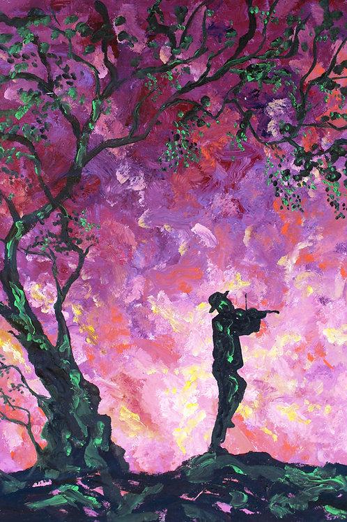 Fiddler on a Violet Night