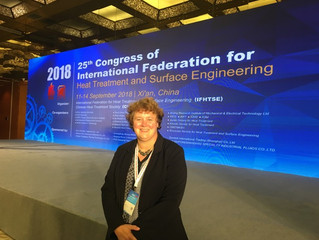 25th Congress of International Federation for Heat Treatment and Surface Engineering, Xi'an, China