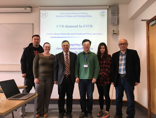 ProfessorChengming Li on secondment to University of Leicester