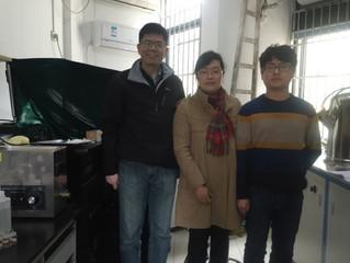Dr Hailin Sun (TCL) on secondment to ZJUT