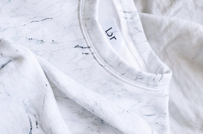 MARBLE SWEATER // LORBYLAURE
