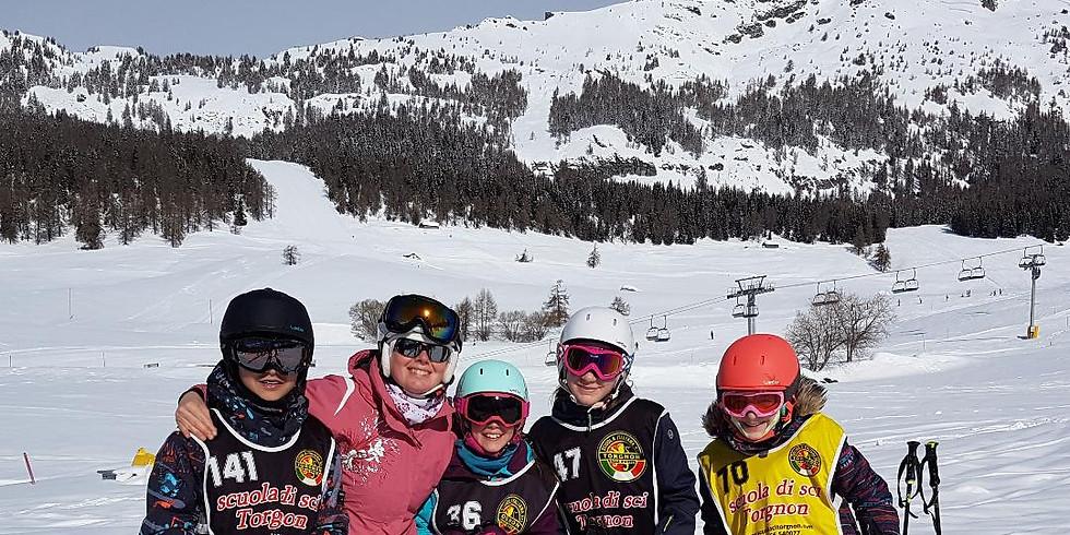 Les 6èmes partent à Torgnon en classe de neige.