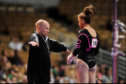 Nastia Cup and Dennis coaching bars