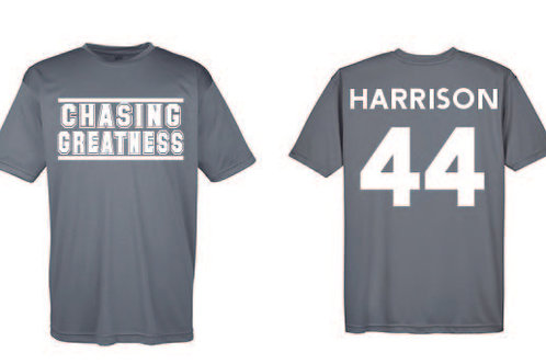 Practice Jersey - Charcoal Gray replacement