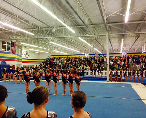 dynamo gymnastics meet results