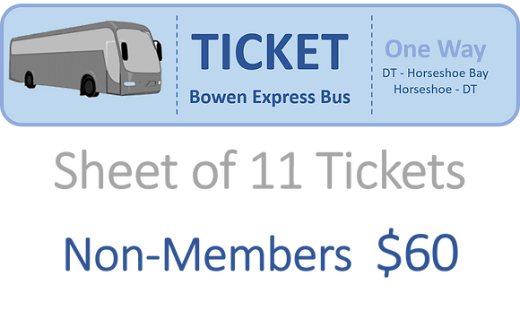 Non-Member Tickets Bowen Express Bus