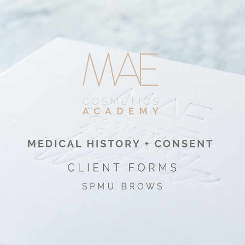 Medical History & Consent Form