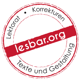lesbar Lektorat Texte Gestaltung Braunschweig